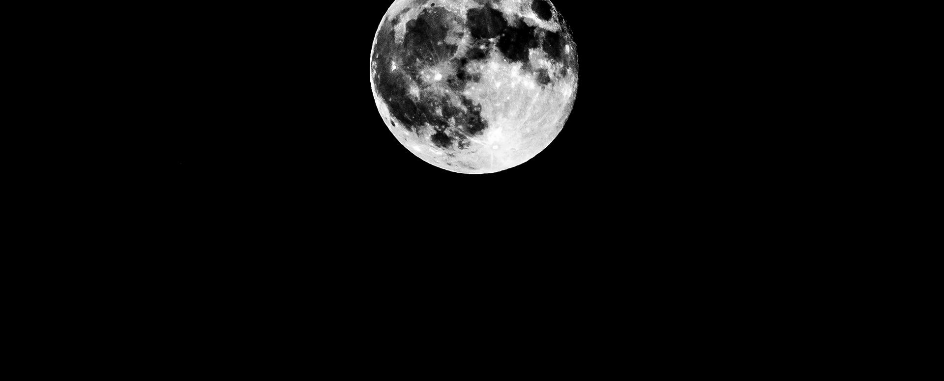 月 写真 クレーター イラスト